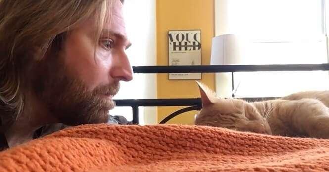 Esse cara se vingou de seu próprio gato, que lhe acordava todos os dias às 4 horas da manhã
