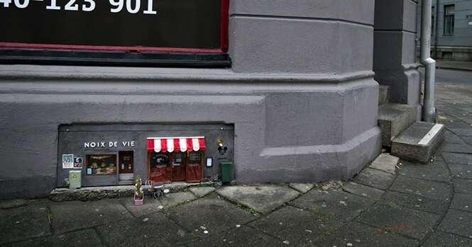 Alguém está abrindo pequenas lojas para ratos na Suécia