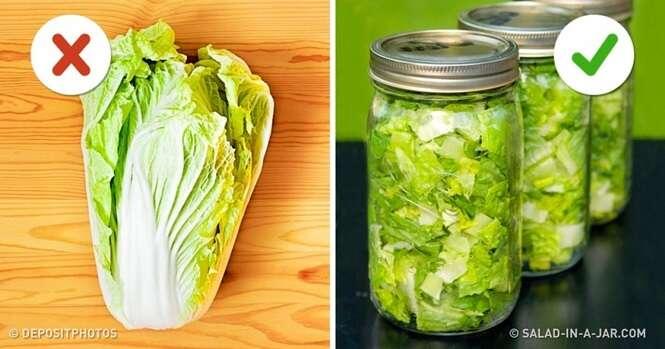 Dicas para conservar alimentos frescos por muito mais tempo