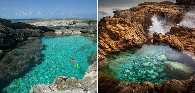 Incríveis piscinas naturais nas quais você vai ficar com vontade de entrar agora