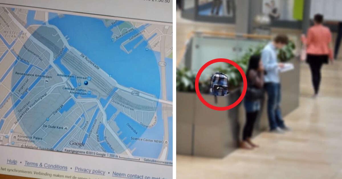 Estudante deixa seu celular ser roubado de propósito para poder espionar a vida do ladrão