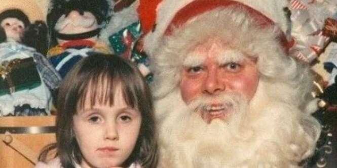 Fotos que farão você olhar o Papai Noel com outros olhos