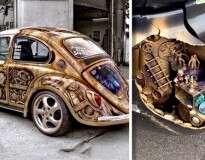 20 pessoas que decoraram seus carros criativamente