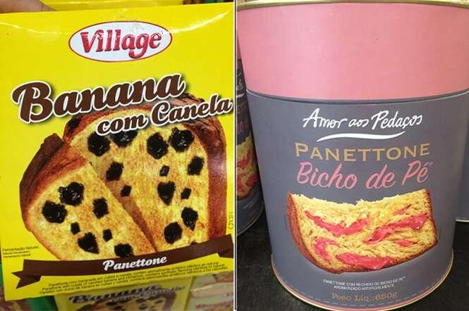 Imagens provando que os sabores de panettone estão indo longe demais