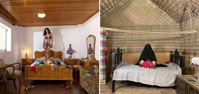Projeto fotográfico fascinante revela o íntimo de mulheres de todo o planeta através de seus quartos