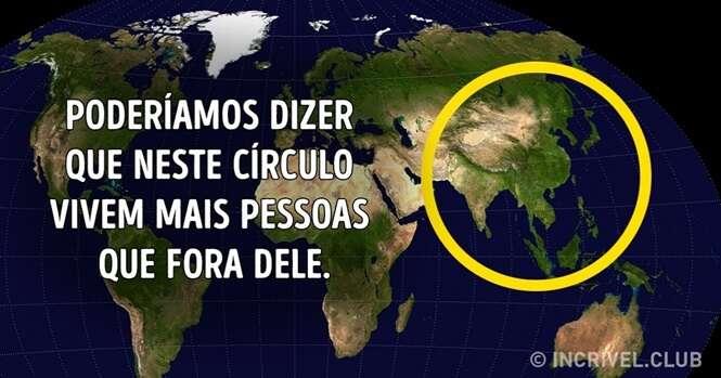 Mapas que te farão ver o mundo por um ângulo diferente