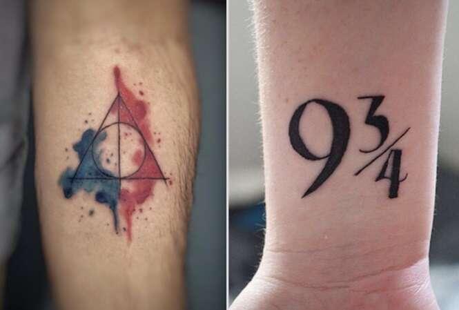 Tatuagens que trazem homenagens sutis à Harry Potter