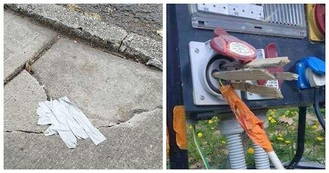 Tentativas vergonhosas de consertar coisas