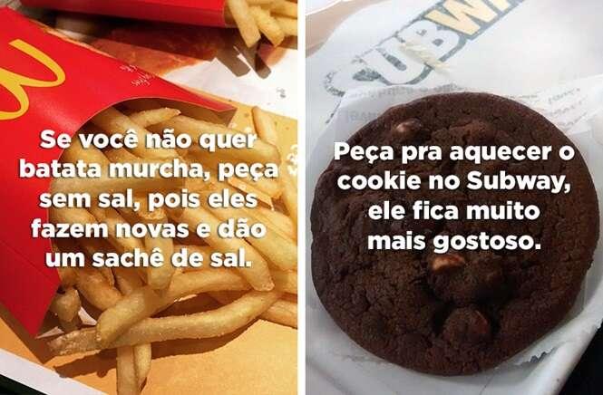 Dicas de fast food no Brasil que vão melhorar as suas refeições