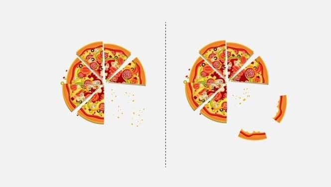 Ilustrações que mostram as diferenças existentes entre as pessoas