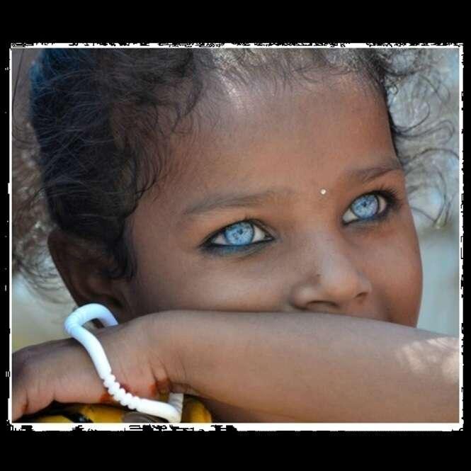 Os olhos mais impressionantes do mundo