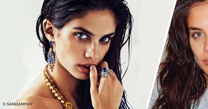 Como são 12 maravilhosas modelos da Victoria's Secret sem maquiagem