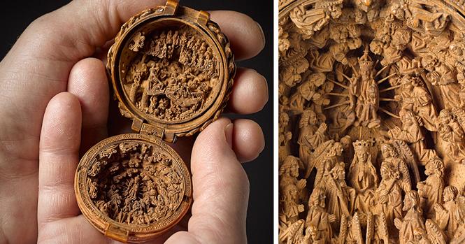 Estas esculturas religiosas do século 16 são tão pequenas que pesquisadores precisaram usar raios-X para descobrir seus mistérios