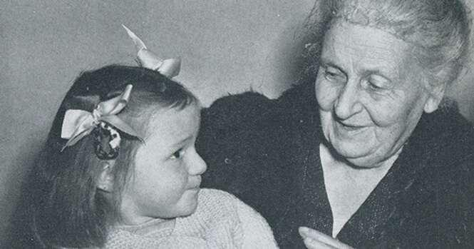 Mandamentos da educadora Maria Montessori que vão lhe ajudar a ser um pai perfeito
