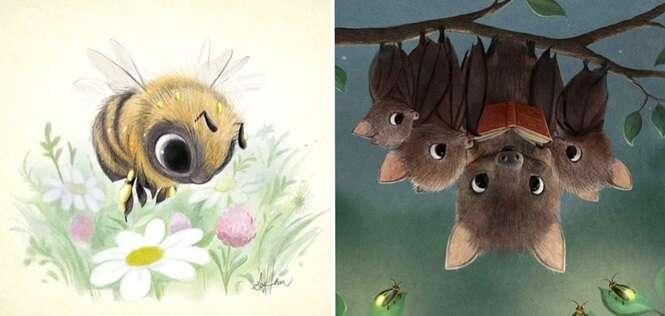 Este artista é capaz de fazer qualquer animal ficar extremamente fofo