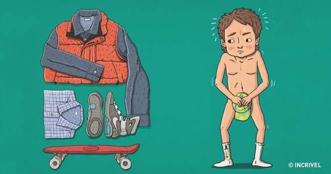 Você sabe a que personagens de filmes famosos pertencem estas 10 roupas?