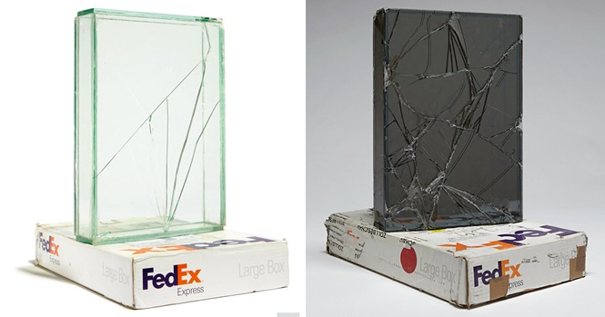 Artista passa 9 anos enviando objetos de vidro pelos correios para criar obras de arte