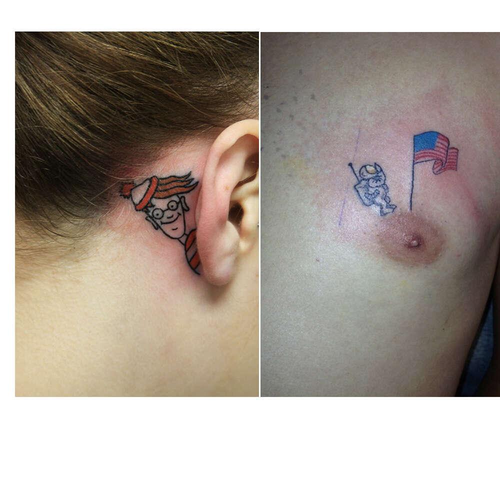 Tatuagens simplesmente geniais