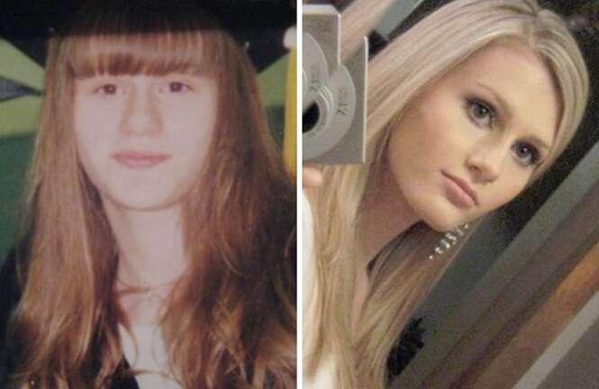 Antes e depois que vão fazer duvidar serem das mesmas pessoas
