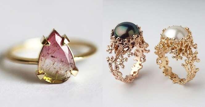 Belíssimos anéis de noivado que você vai querer comprar