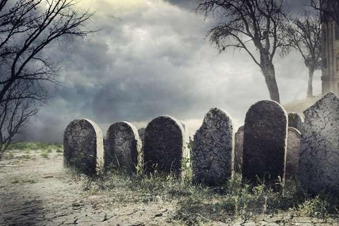Cemitérios aterrorizantes mundo afora
