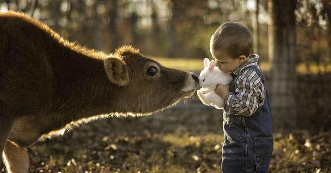Pai faz fotos incríveis dos filhos para registrar a infância deles