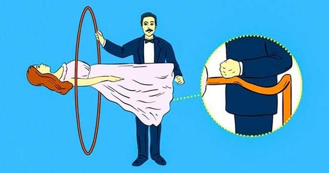 Os segredos por trás de 5 truques mágicos bem conhecidos