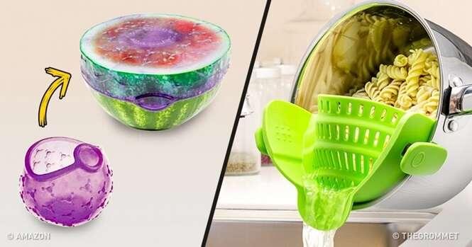 Produtos criativos que vão transformar sua cozinha um lugar com mais vida