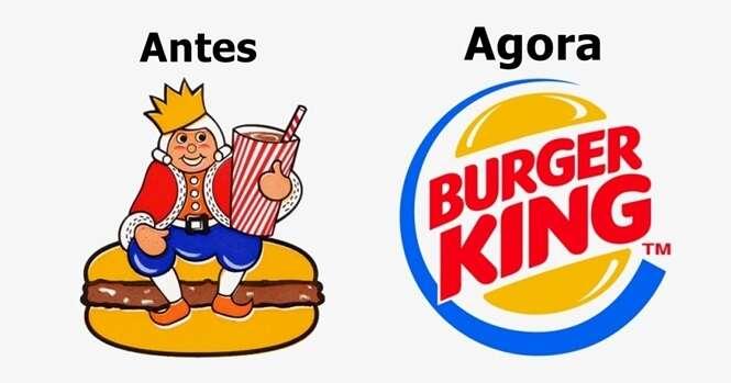 Exemplos de como logotipos de marcas famosas mudaram com o passar do tempo