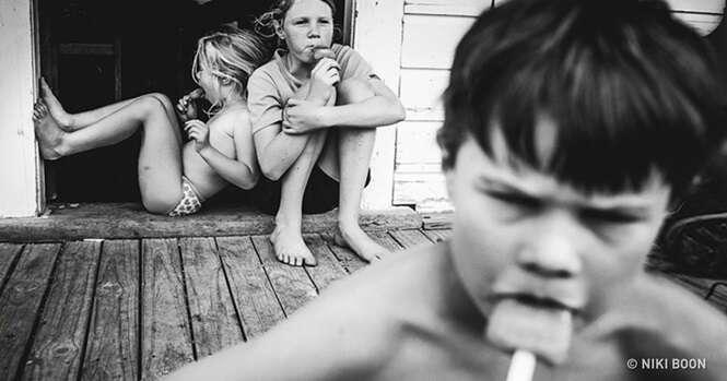Mãe mostra como é a infância de seus filhos sem TV e aparelhos eletrônicos modernos