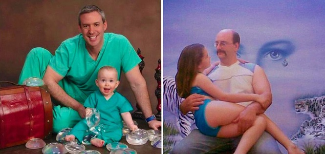 Pais que acabaram com fotos de família