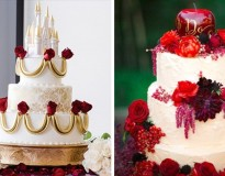 10 bolos para quem é fã da Disney aderir no casamento