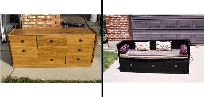 Ideias interessantes para transformar móveis e objetos velhos em coisas novas