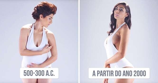 Veja como os padrões de beleza do corpo das mulheres mudou ao longo de 3 mil anos