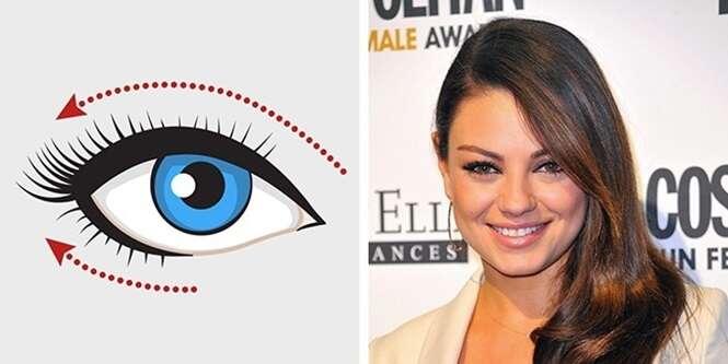 Como aplicar delineador de acordo com o formato dos seus olhos