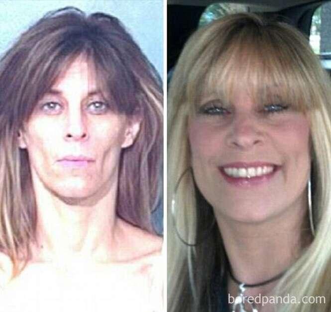 Transformações impressionantes de pessoas que largaram as drogas