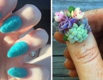 12 artes para unhas tão originais que vão confundir você