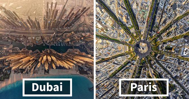 Cidades do mundo de um jeito que você nunca viu antes
