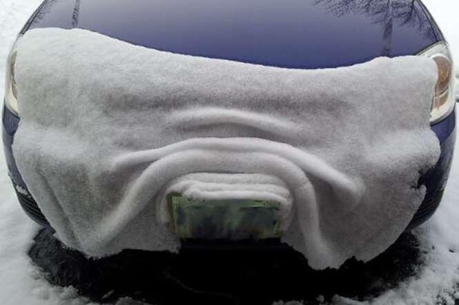 Fotos curiosas da neve