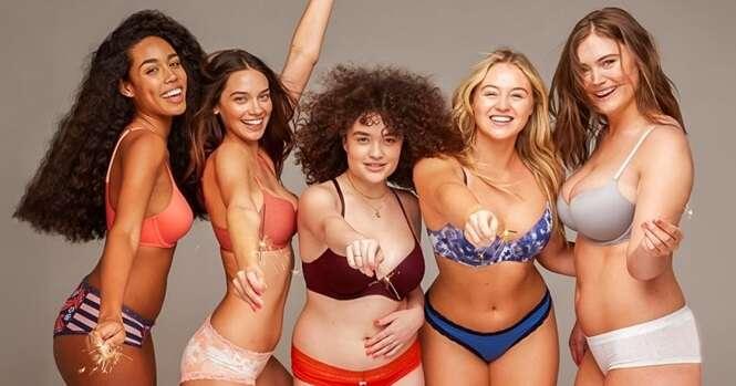 Estas mulheres romperam com o padrão da propaganda de lingerie