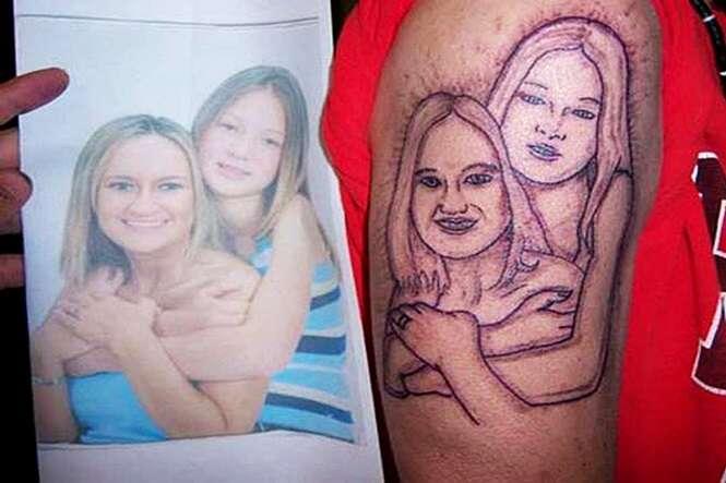 Pessoas que fizeram tatuagens e depois se arrependeram amargamente
