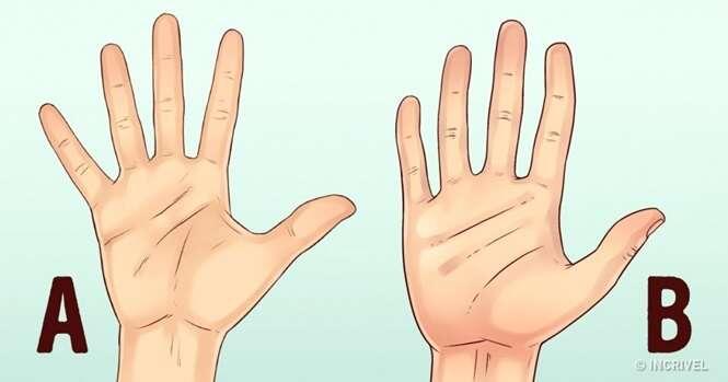 O que as mãos dizem sobre a personalidade