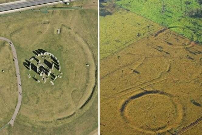 Centenas de círculos parecidos com Stonehenge foram achados no Acre