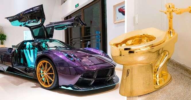 Coisas para você comprar quando ficar milionário