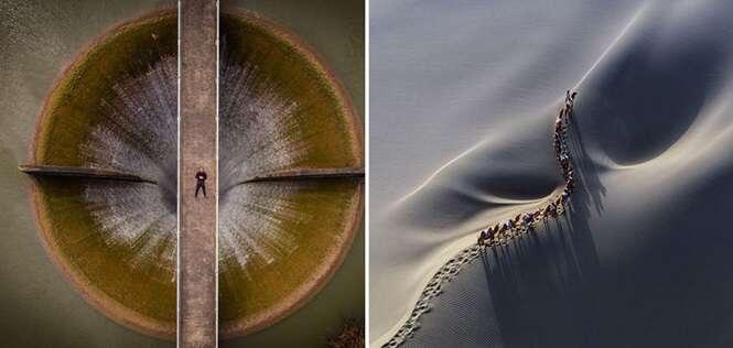 Fotos sensacionais feitas por drones