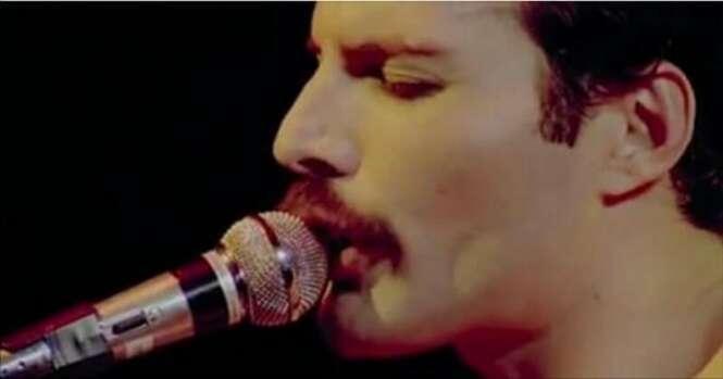 A impressionante voz de Freddie Mercury
