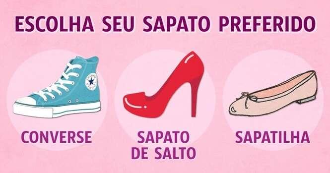 O que os calçados dizem a respeito da sua personalidade
