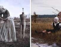 Fotógrafo de 22 anos com paralisia do sono recria seus pesadelos em imagens, e o resultado é assustador