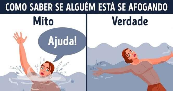 Dicas para prestar os primeiros socorros no caso de alguém se afogar