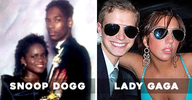 Fotos antigas que as celebridades não querem que você veja